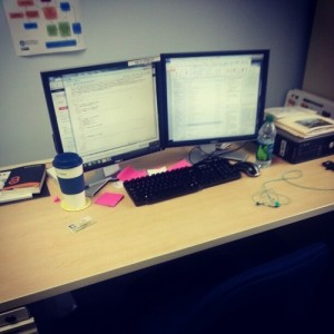 My work desk